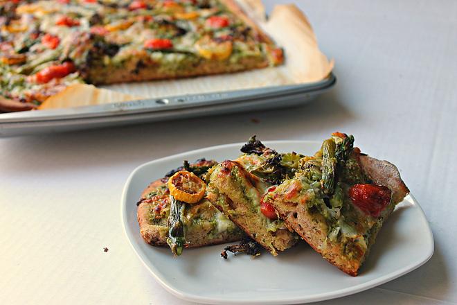 Roasted Vegetable Flatbread