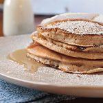 Cinnamon Buttermilk Pancakes (Extra Fluffy!)