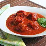Meatballs & Tomato Basil Sauce