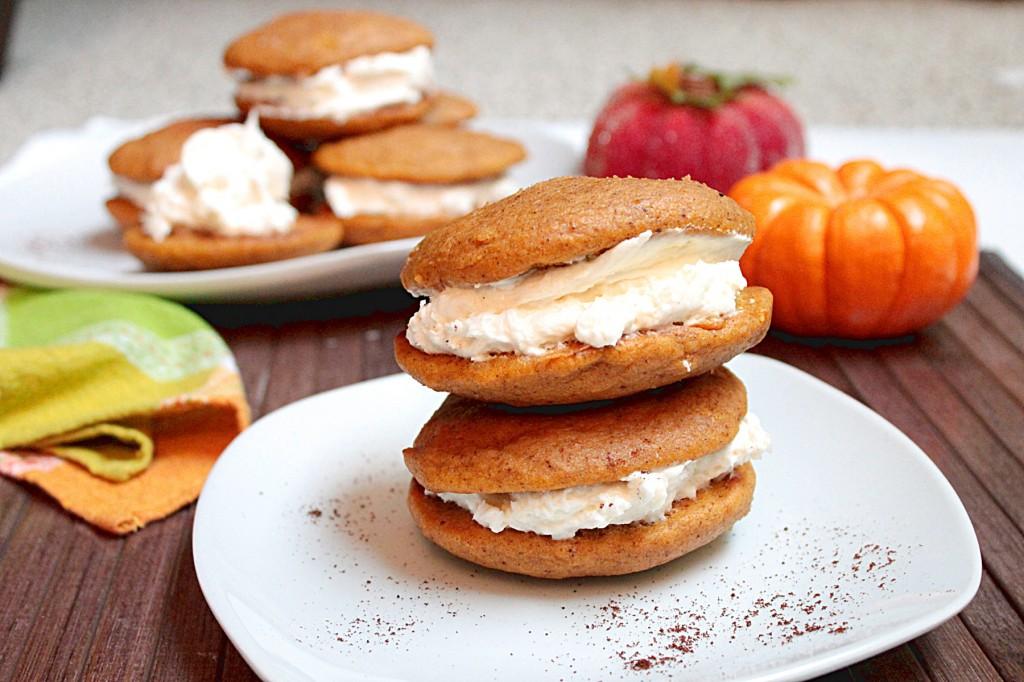 Pumpkin Whoopie Pies - Fabtastic Life
