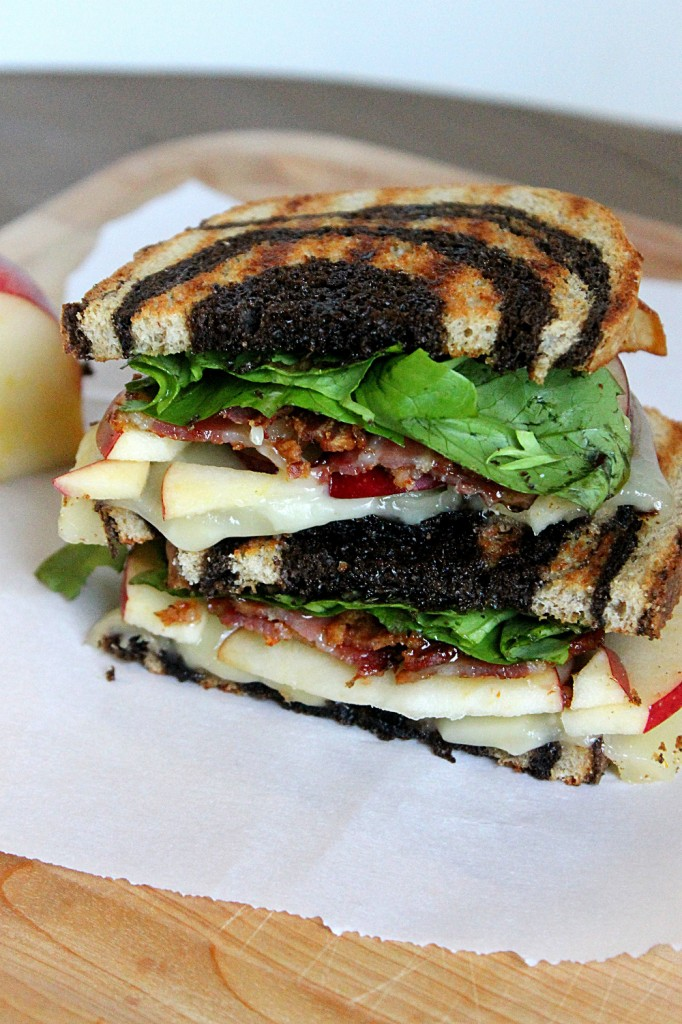 Apple, Bacon, and Brie Panini