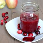Cranberry Apple Syrup
