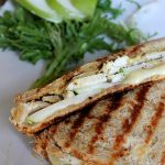 Chicken, Pear, and Brie Panini