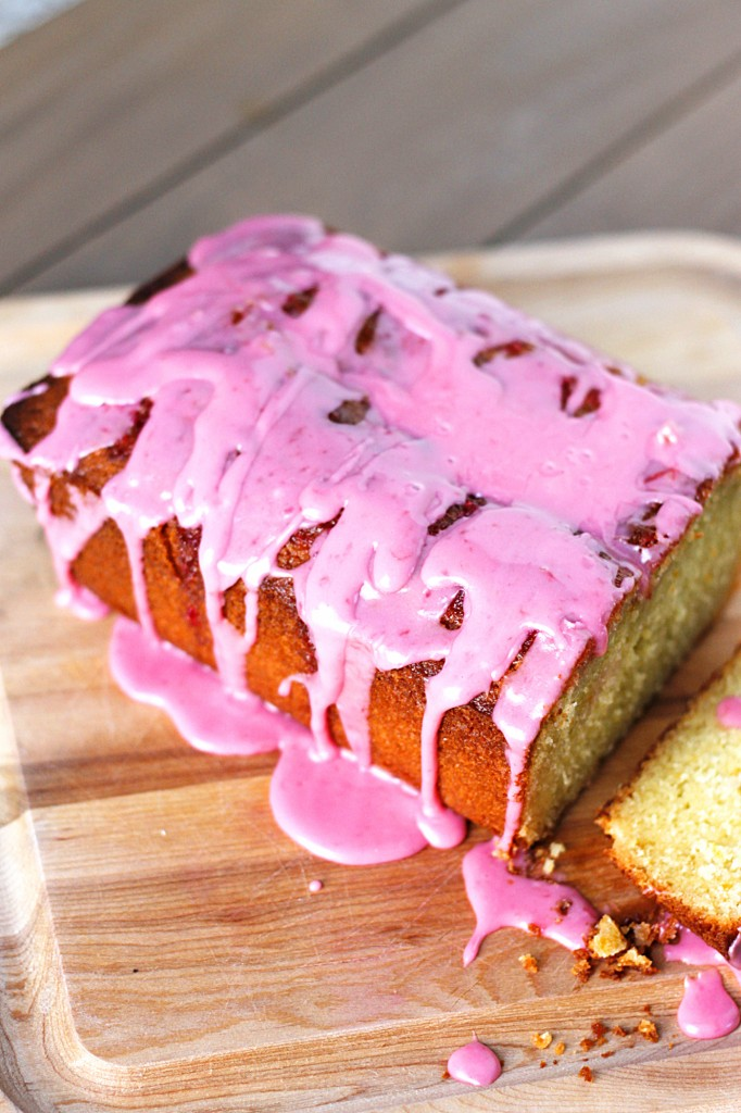 Blood Orange Glazed Loaf Cake #recipe #cake #bread