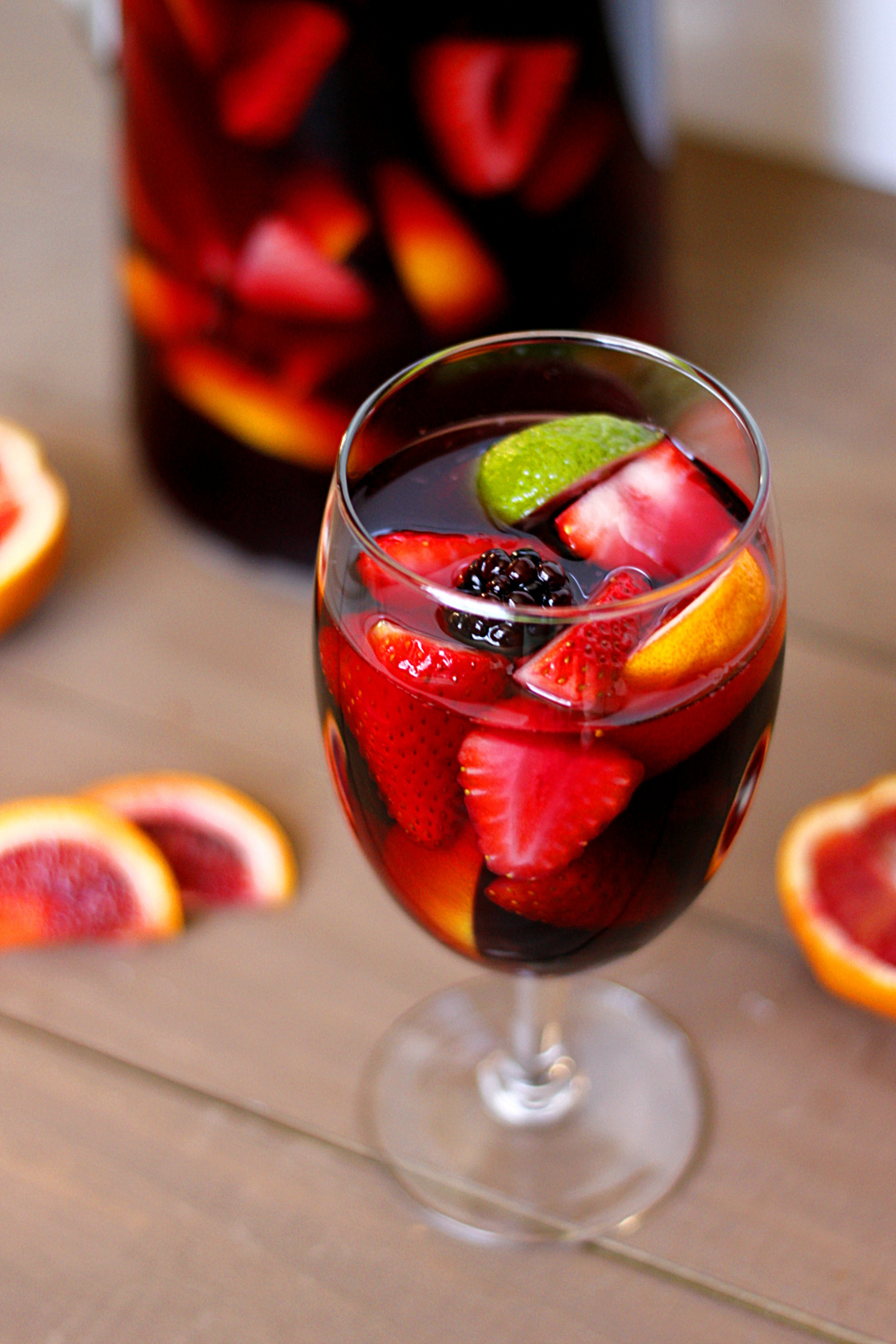 wait another day to share this with you. This is the best Sangria ...