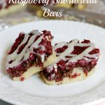 Double Chocolate Raspberry Shortbread Bars