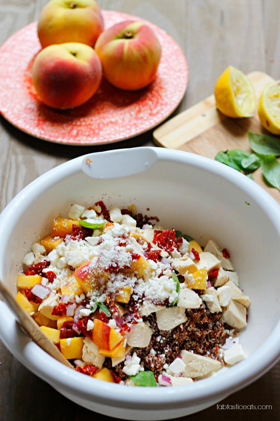 Summer Quinoa Salad | Fabtastic Eats