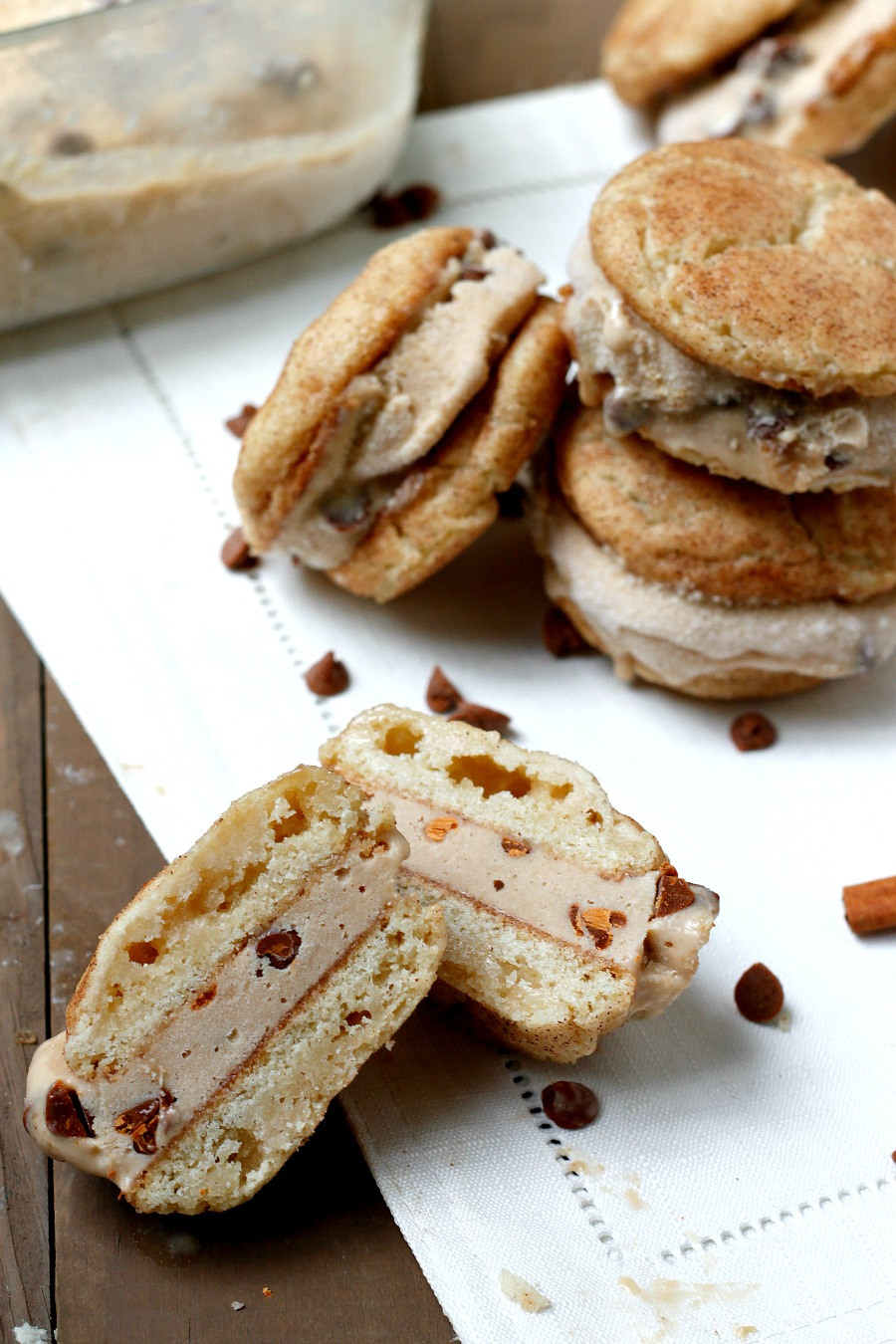 Snickerdoodle Biscoff Sandwich Cookies Recipes — Dishmaps