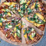 BBQ Pulled Pork & Mango Pizza