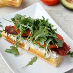 Open Faced Souped-Up BLT