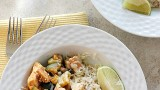 Chicken, Zucchini, & Corn Saute {30 Minute Meal!} | Fabtastic Eats