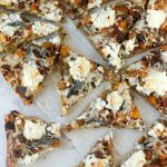 Butternut Squash, Brussels, Spicy Sausage, and Ricotta Pizza