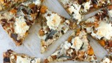 Butternut Squash, Brussels, Spicy Sausage, and Ricotta Pizza | Fabtastic Eats