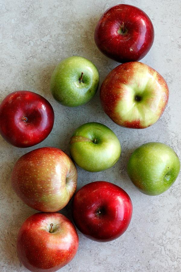 Apple Crisp-Apple Pie | Fabtastic Eats