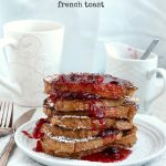 Cranberry Eggnog French Toast