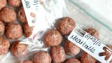 Homemade Frozen Meatballs | Fabtastic Eats