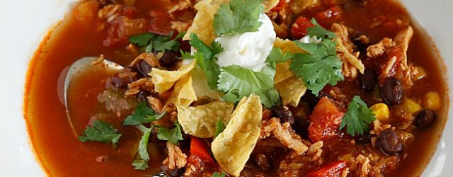 Chicken Tortilla Soup | Fabtastic Eats