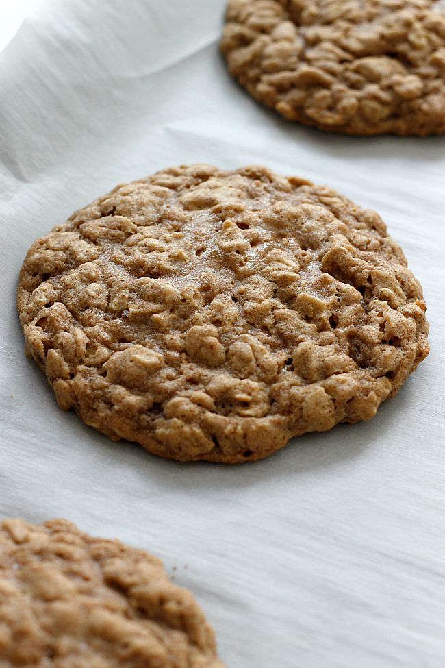 These soft and chewy, spicy, oatmeal cookies may just be my favorite ...